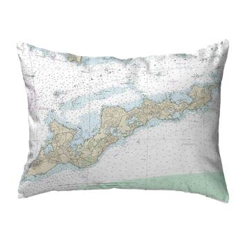 East Urban Home Centers New York Flag In Poly Proplin Pillow Cover Concealed Zipper Indoo Wayfair