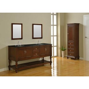 Cahill 70 Double Vanity Set by Rosecliff Heights