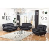 Tenacia 3 Piece Standard Living Room Set by Orren Ellis