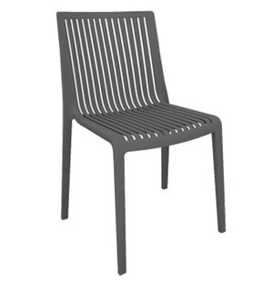 Cool Stacking Patio Dining Chair (Set of 4)