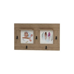 Kelleher Owl Wall Mounted Coat Rack By Brambly Cottage