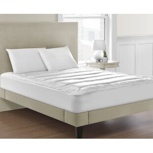 Allis Overfilled Luxuriously Soft Channel-Stitched 100% Polyester Mattress Pad
