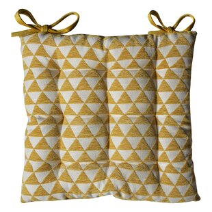 Jacquard Triangle Seat Cushion (Set Of 2) By Bloomsbury Market