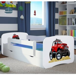 Girdler Convertible Toddler Bed With Drawers By Zoomie Kids