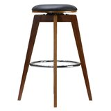 Heinrick Swivel 24 Counter Stool (Set of 2) by Red Barrel Studio®