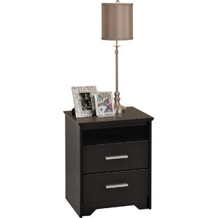Oleanna Traditional 2 Drawer Nightstand