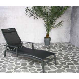 Sandhill Reclining Sun Lounger By Sol 72 Outdoor