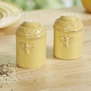 Gouet Busy Bees Salt & Pepper Shaker Set (Set of 2)