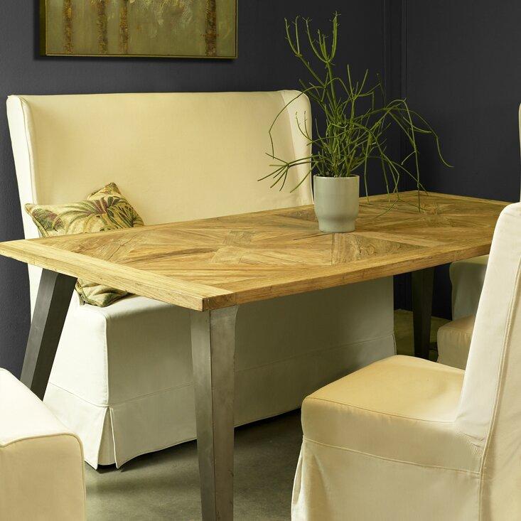 Teak Kitchen Table Union rustic hamlet recycled mosaic teak dining table reviews hamlet recycled mosaic teak dining table workwithnaturefo