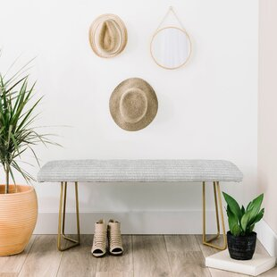 Holli Upholstered Bench by East Urban Home Wonderful