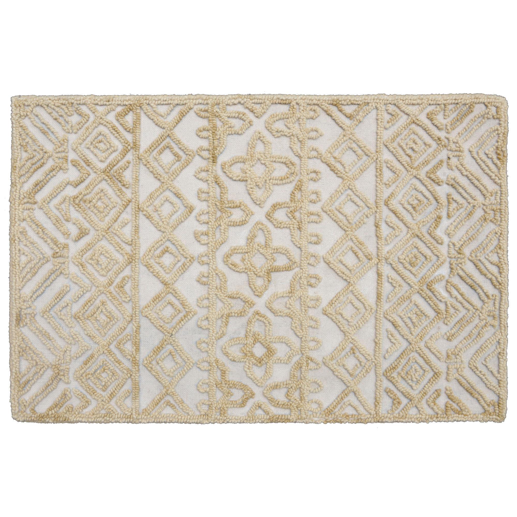 CompanyC Corinth Hand-Tufted Wool Wheat Area Rug