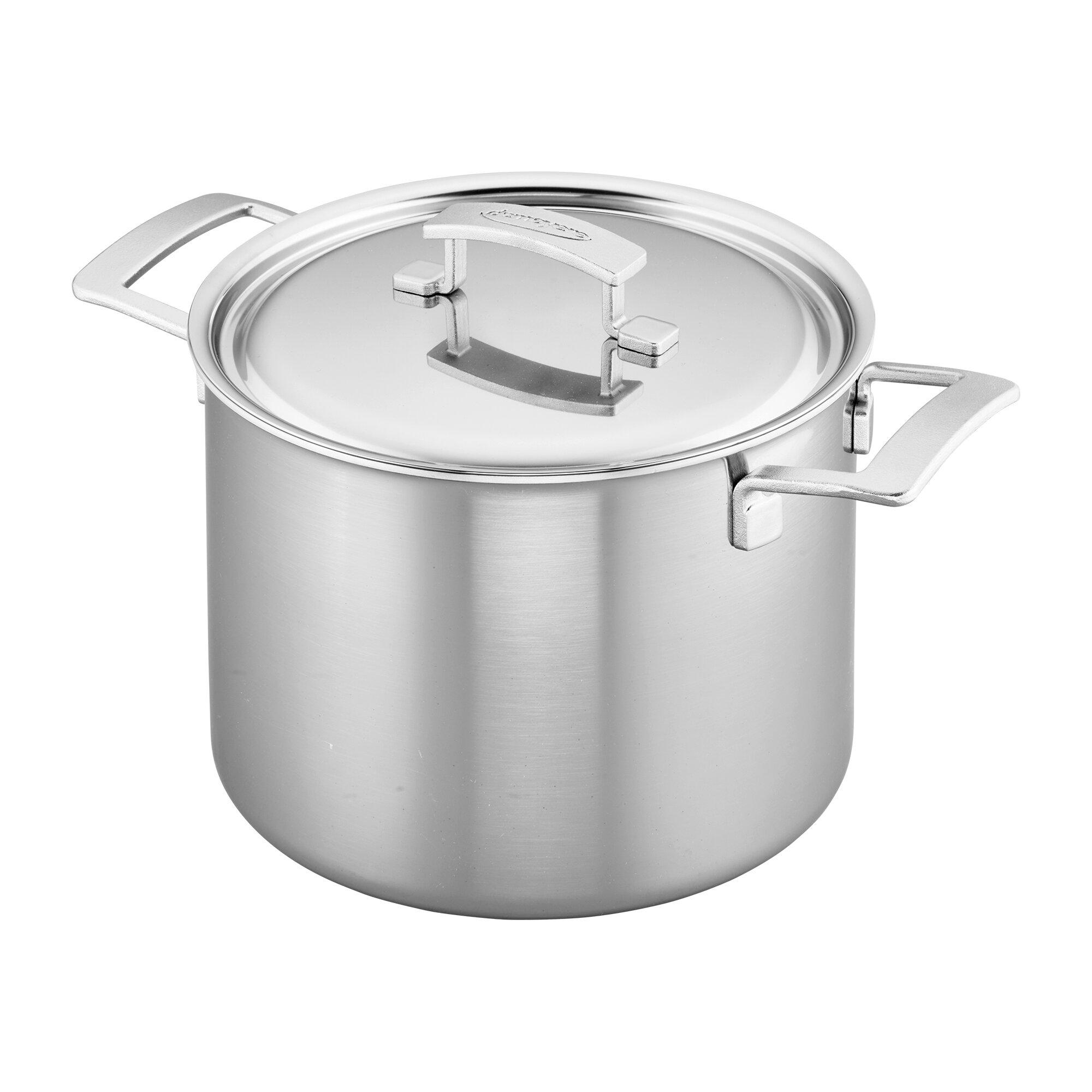Demeyere Industry 5 Ply 8 Qt Stock Pot