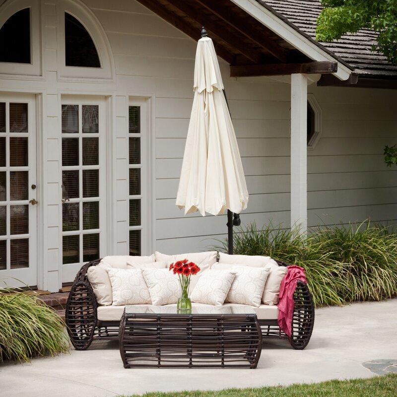 home loft concepts 10 cantilever umbrella reviews wayfair