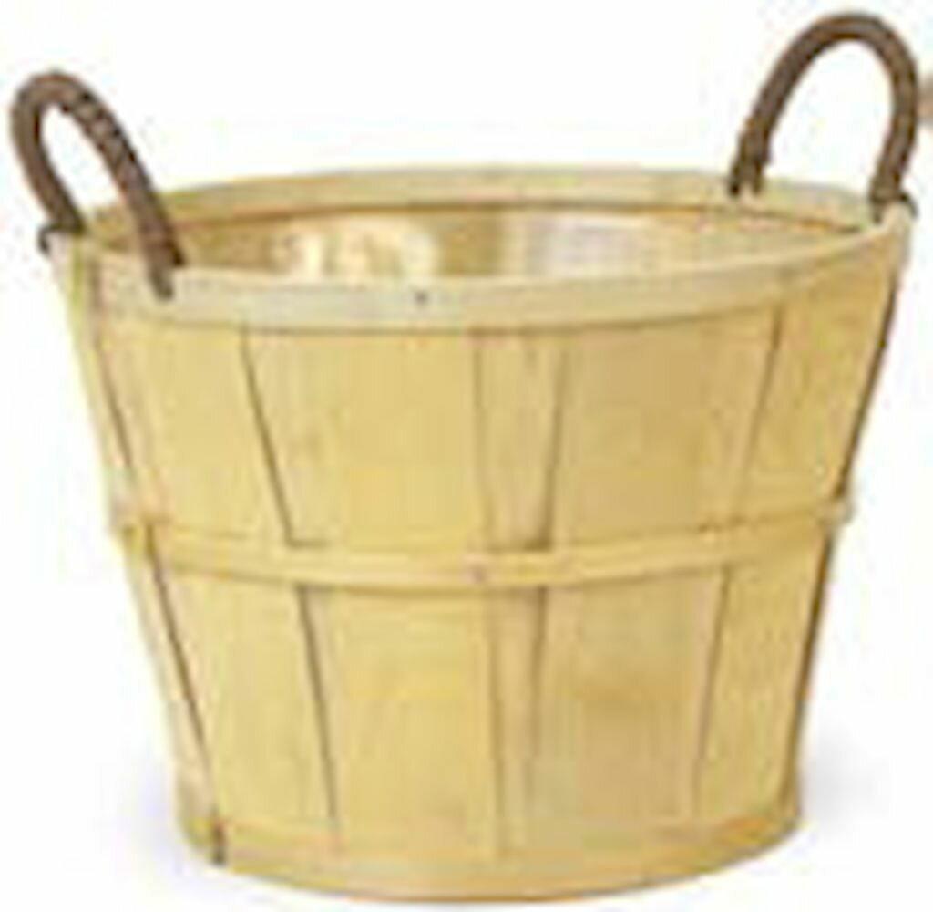 August Grove Bushel Wicker Rattan Basket Wayfair