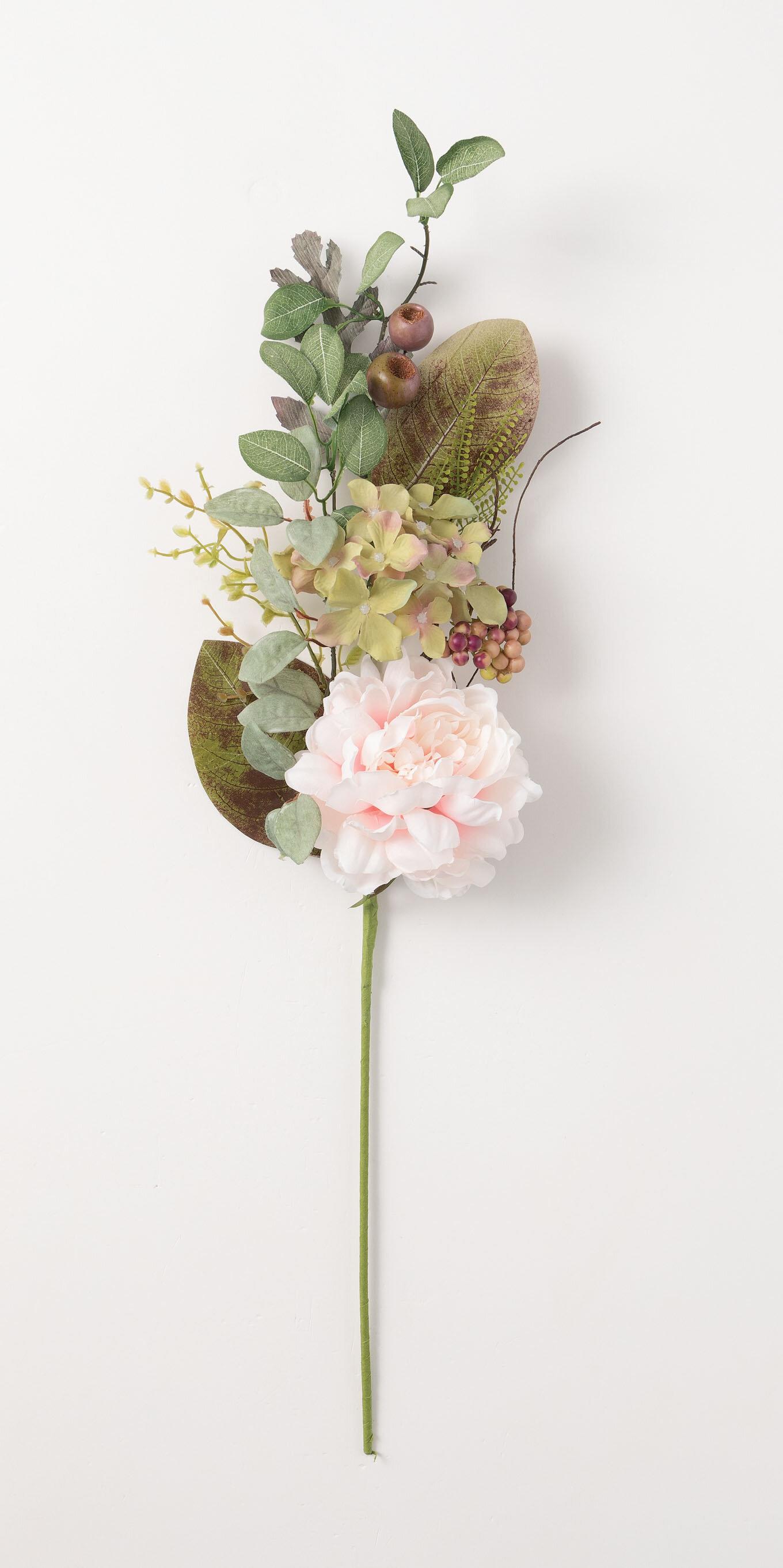August Grove Blossom Peonies Spray Wayfair