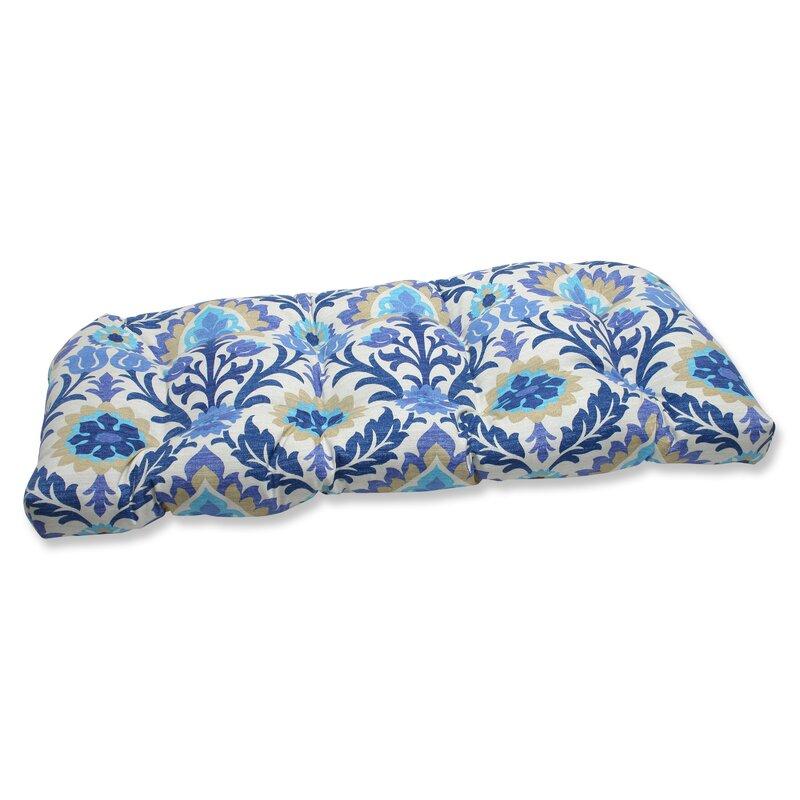 Alcott Hill Rockhill Indoor Outdoor Loveseat Cushion Reviews Wayfair Ca
