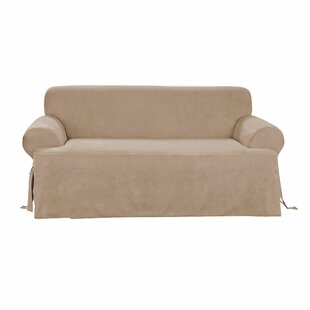 Sure Fit T-Cushion Sofa Slipcover