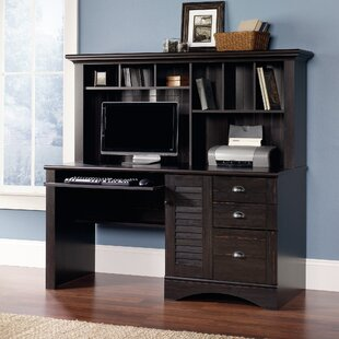 Pinellas Computer Desk with Hutch by Beachcrest Home