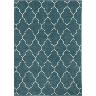 Price Check Lifestyles Deco Plaza Aqua Indoor/Outdoor Area Rug By Mayberry Rug