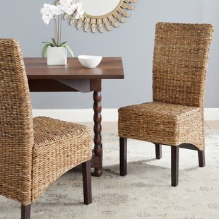 Willow Side Chair In Brown (Set Of 2) By Bay Isle Home
