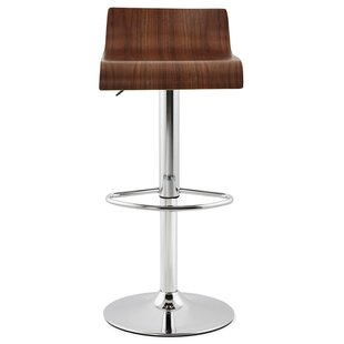 Macfarlane Swivel Adjustable Bar Stool By Brayden Studio