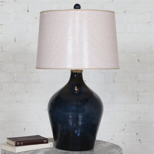 Carnes Glass 31 Table Lamp