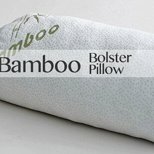 Rayon From Bamboo Bolster Memory Foam Pillow