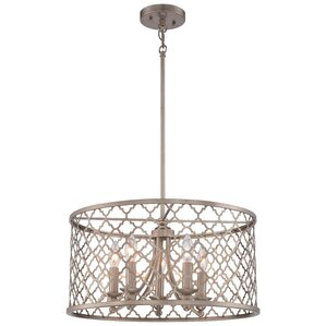 Govinda 5-Light Drum Chandelier  sc 1 st  Wayfair & Drum Chandeliers Youu0027ll Love | Wayfair azcodes.com