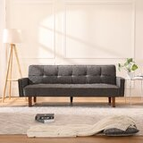 Mcneely Twin Or Smaller 75 Cushion Back Convertible Sofa by Corrigan Studio®