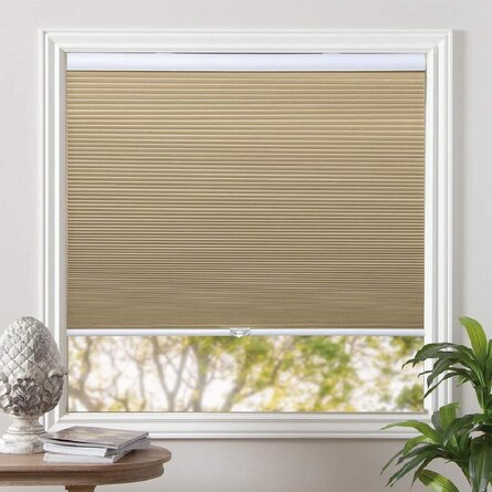 Blackout Shades Cordless Blinds Cellular Fabric Blinds Honeycomb Door Window Shades