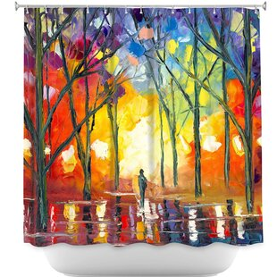 Reflections of the Soul Single Shower Curtain