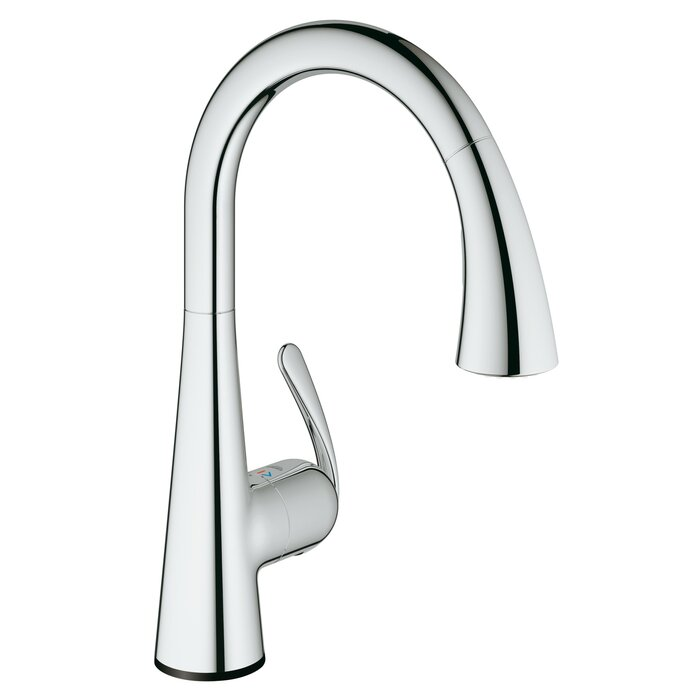 Ladylux Touch Single Handle Kitchen Faucet With Silkmove