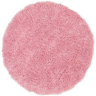 Pickerington Hand-Loomed Pink Kids Rug by Harriet Bee