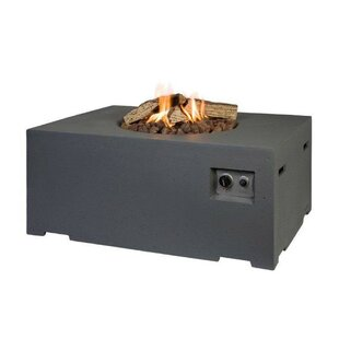 Concrete Propane Fire Pit Table By Belfry Heating