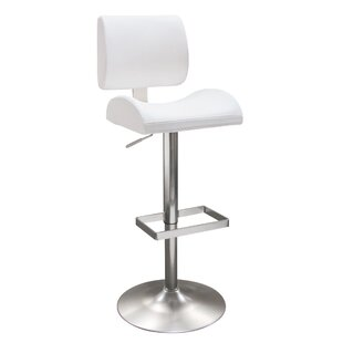 Contour Adjustable Height Swivel Bar Stool