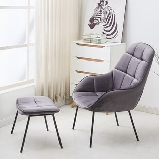 Delafield Armchair and Ottoman