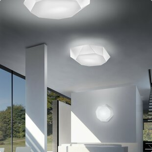 ZANEEN design 2-Light Flush Mount