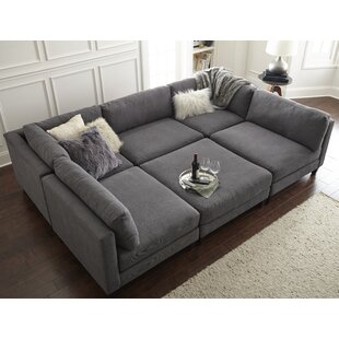 Light Gray Sectional | Wayfair