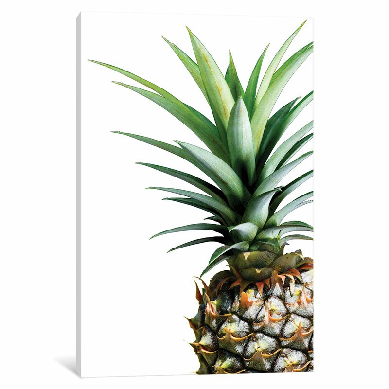 East Urban Home Pineapple Graphic Art Print On Canvas Reviews Wayfair