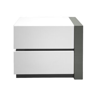 Kajal 2 Drawer Nightstand by Orren Ellis