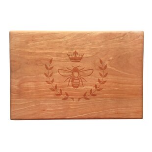 Wood Vintage Bee Artisan Cutting Board