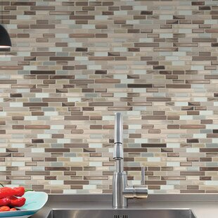 Mosaik Muretto Durango 10 20 X 9 L Stick Wall Tile In Beige Gray Silver