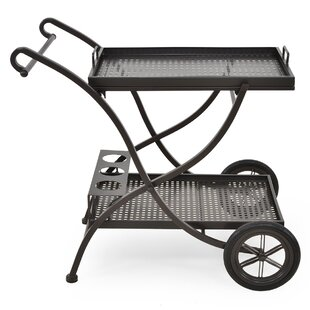 Romeo Bar Serving Cart By Sol 72 Outdoor
