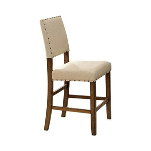 Wanda Industrial Upholstered Dining Chair..