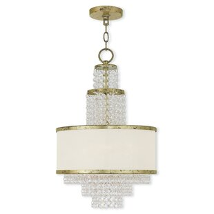Mac 3-Light Crystal Chandelier by House o..