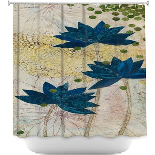 Lotus Single Shower Curtain