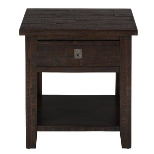 Miriam Wooden End Table