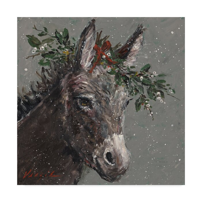 Christmas Graphic Painted Art Prints
