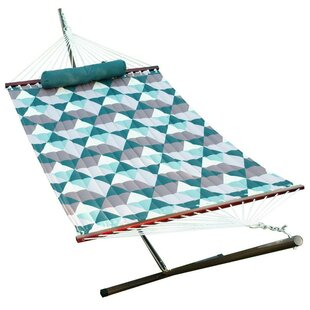 Fennell Quilted Hammock with Stand
