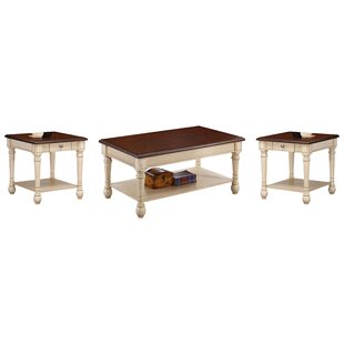Oakside 3 Piece Coffee Table Set
